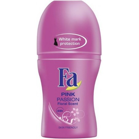 Fa Pink Passion 48h Roll-On Deodorant Anti-Perspirant 50 ml / 1.7 oz