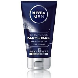 Nivea Men Natural Styling Gel Reliable Hold 5 150 ml / 5.0 fl oz