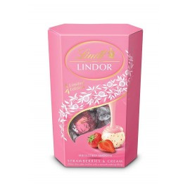 Lindt Lindor Strawberries & Cream 200 g