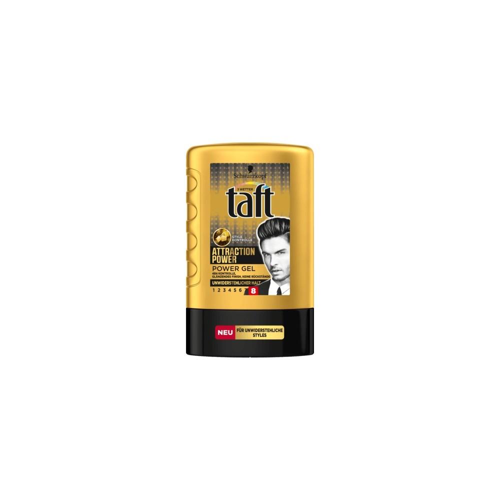 Schwarzkopf Taft Looks Attraction Power Hair Gel 300 Ml