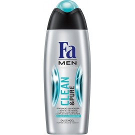 Fa Men Clean & Pure Shower Gel 250 ml / 8.3 fl oz