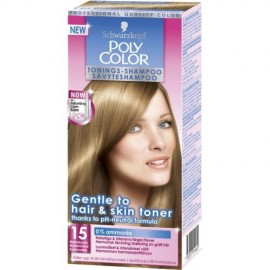 Schwarzkopf Poly Color Shampooing Colorant 15 Mediumblonde 90 ml / 3 fl oz