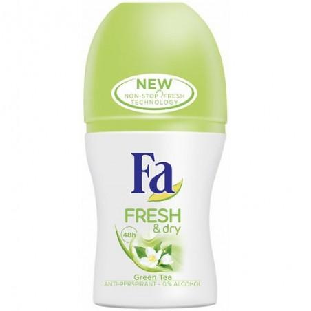 Fa Fresh & Dry Green Tea Anti-Perspirant Roll-On 50 ml / 1.7 oz