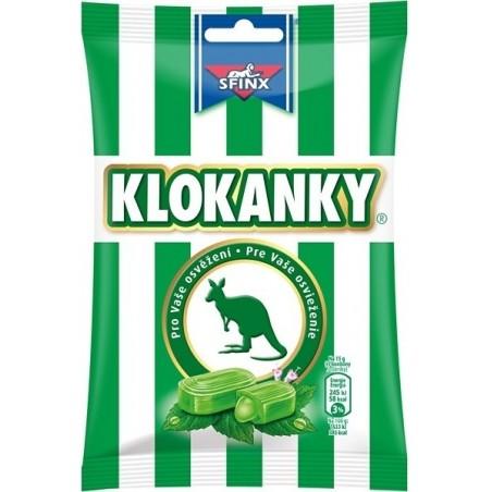 Nestle Klokanky Hard Eucalyptus Candy 90 g