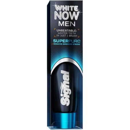 Signal White Now Men Super Pure Toothpaste 75 ml / 2.5 fl oz