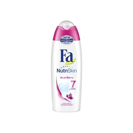 Fa NutriSkin Acai Berry Shower Cream 250 ml / 8.3 fl oz