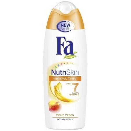 Fa NutriSkin White Peach Shower Cream 250 ml / 8.3 fl oz