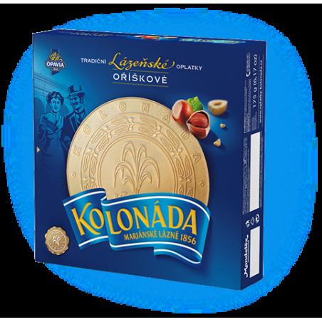 Opavia Tradicni lazenske oplatky Kolonada / Original Czech Spa Round Wafers with Nuts Filling 175g