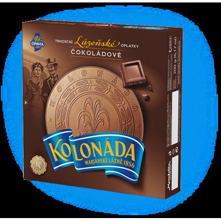 Opavia Tradicni lazenske oplatky Kolonada / Original Czech Spa Round Wafers with Chocolate Filling 200g
