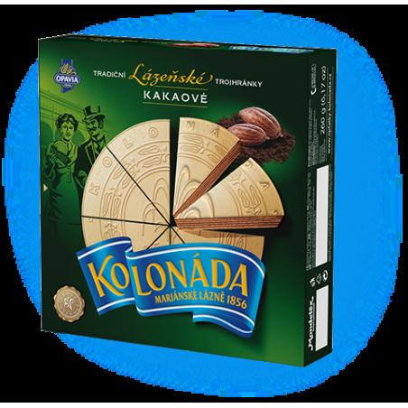 Opavia Tradicni lazenske trojhranky Kolonada / Original Czech Spa Triangles Cocoa 260g