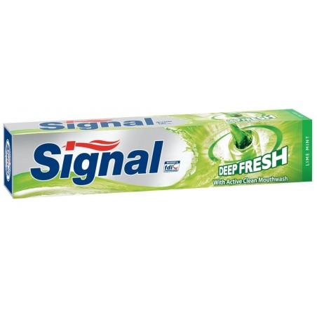 Signal Deep Fresh Lime Mint Toothpaste 75 ml / 2.53 fl oz