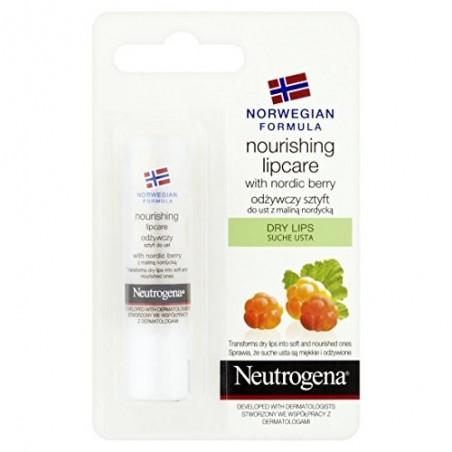 Neutrogena Norwegian Formula Nourishing Lipcare with Nordic Berry 4,9 g