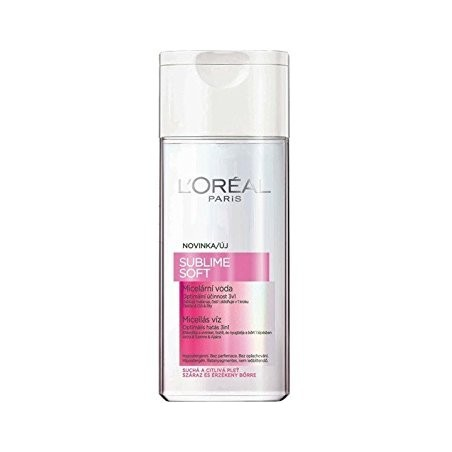 L'Oreal Paris Sublime Soft Micellar Water 3-in-1 200 ml / 6.8 fl oz