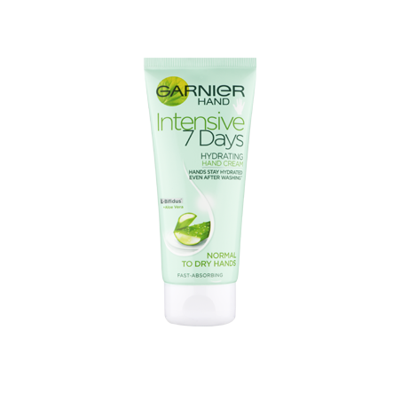 Garnier Intensive 7 Days Hydrating Hand Cream Aloe Vera 100 ml / 3.4 oz