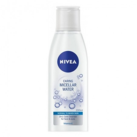 Nivea Caring Micellar Water 3in1 for Normal to Mixed Skin 200 ml / 6.8 fl oz