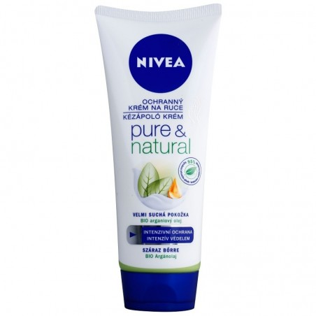 Nivea Pure & Natural Hand Cream 100 ml / 3.4 fl oz