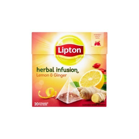 Lipton Herbal Infusion Lemon & Ginger