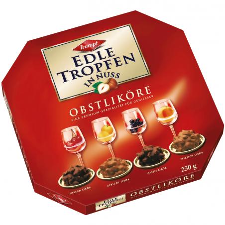 Trumpf Edle Tropfen In Nuss Obstliköre / Fruit Liqueurs 250 g