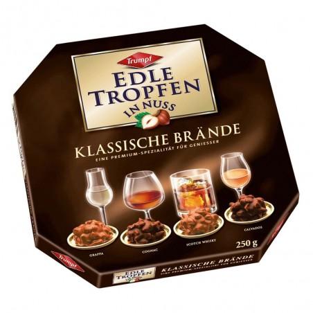 Trumpf Edle Tropfen In Nuss Klassische Brände / Classic Brandies 250 g