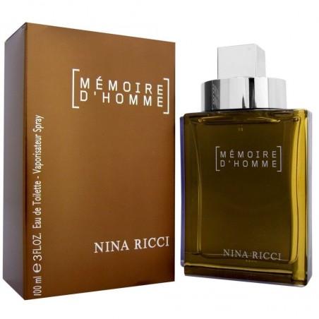 Nina Ricci Memoire D'Homme Eau de Toilette 100 ml / 3.3 fl oz