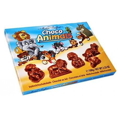 Maitre Truffout Milk Chocolate Choco Animals 100g / 3.5 Ounce