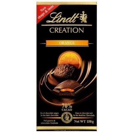 Lindt Creation Orange 70% Dark Chocolate 150 g / 5 oz