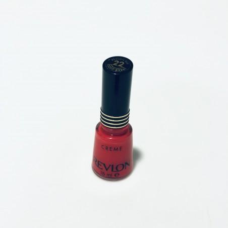 Revlon Creme Nail Enamel 22 Revlon Red