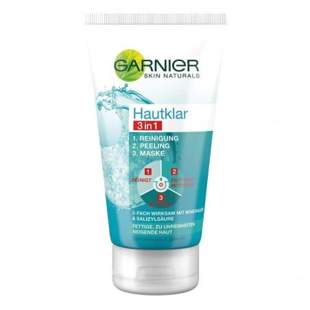 Garnier SkinActive Skin Clear 3in1 Cleansing + Peeling + Mask 150 ml / 5.0 fl oz