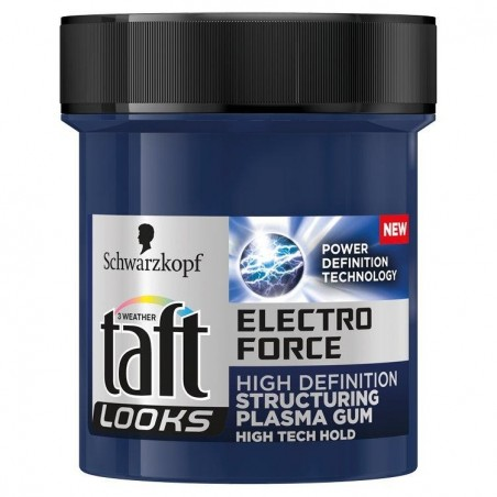 Schwarzkopf Taft Electro Force Structuring Plasma Gum 130 ml / 4.3 oz