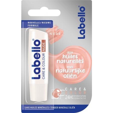 Labello Care & Color Nude Lip Balm 4,8 g