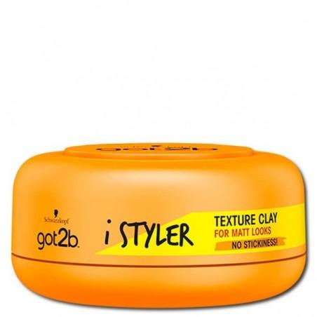 Schwarzkopf Got2b iStylers Texture Clay 75 ml / 2.5 fl oz