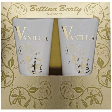 Bettina Barty Vanilla Shower Gel 150 ml / 5.1 fl oz + Body Lotion 150 ml / 5.1 fl oz