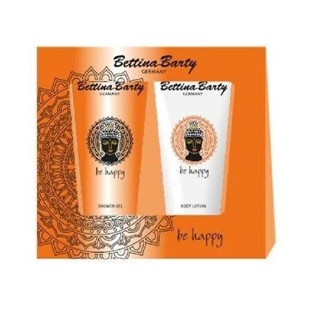 Bettina Barty Be Happy Shower Gel 200 ml / 6.7 fl oz + Body Lotion 200 ml / 6.7 fl oz