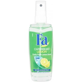 Fa Caribbean Lemon Pump Spray Deodorant 75 ml / 2.5 oz
