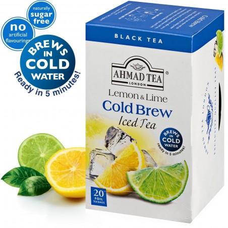 Ahmad Tea Cold Brew Iced Tea Lemon & Lime