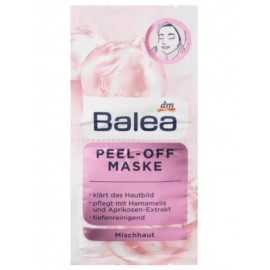Balea Peel-Off Mask 2x 8 ml (16 ml / 0.53 fl oz)