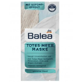 Balea Dead Sea Mask 2x 8 ml (16 ml / 0.53 fl oz)