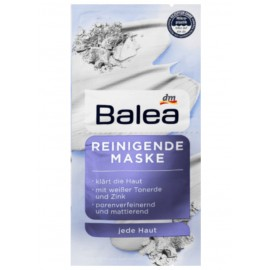 Balea Cleansing Mask 2x 8 ml (16 ml / 0.53 fl oz)