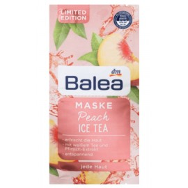 Balea Peach Ice Tea Mask 2x 8 ml (16 ml / 0.53 fl oz)