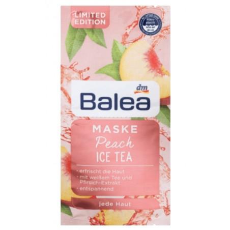 Balea Peach Ice Tea Mask 2x 8 ml (16 ml / 0.53 fl oz)