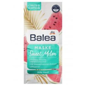 Balea Sweet Melon Mask 2x 8 ml (16 ml / 0.53 fl oz)