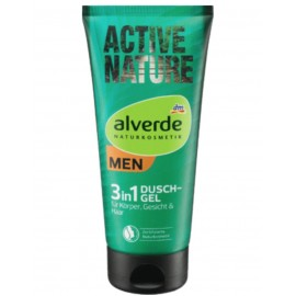 Alverde Active Nature 3in1 Shower Gel 200 ml / 6.8 fl oz