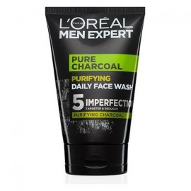 L'Oreal Men Expert Pure Charcoal Purifying Daily Face Wash 100 ml / 3.4 fl oz