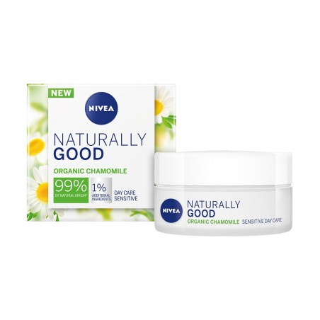Nivea Naturally Good Sensitive Day Cream 50 ml / 1.7 fl oz