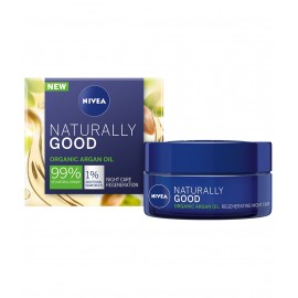 Nivea Naturally Good Regenerating Night Cream 50 ml / 1.7 fl oz