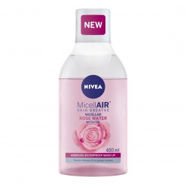 Nivea MicellAIR Rose Water Micellar Water with Oil 400 ml / 13.3 fl oz