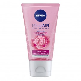 Nivea MicellAIR Micellar Rose Water Wash Gel 150 ml / 5.0 fl oz