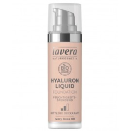 Lavera Hyaluron Liquid Foundation - Ivory Rose 00 30 ml / 1.0 fl oz