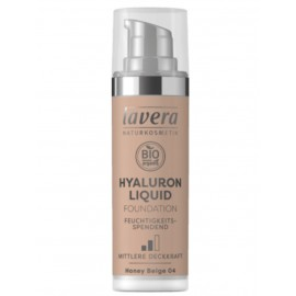 Lavera Hyaluron Liquid Foundation - Honey Beige 04 30 ml / 1.0 fl oz