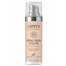 Lavera Hyaluron Liquid Foundation - Ivory Light 01 30 ml / 1.0 fl oz